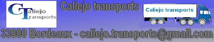 entreprise caliejo transport  Index du Forum