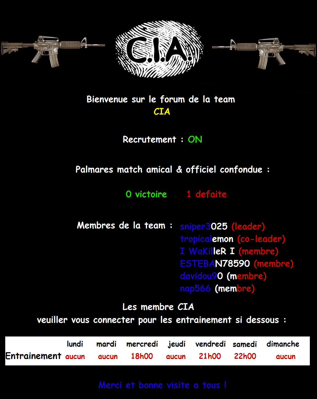 CIA Index du Forum