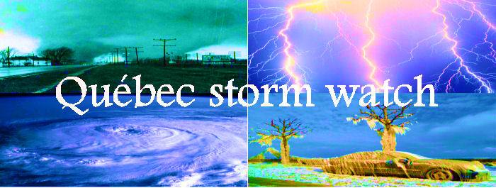 Québec Storm Watch Index du Forum
