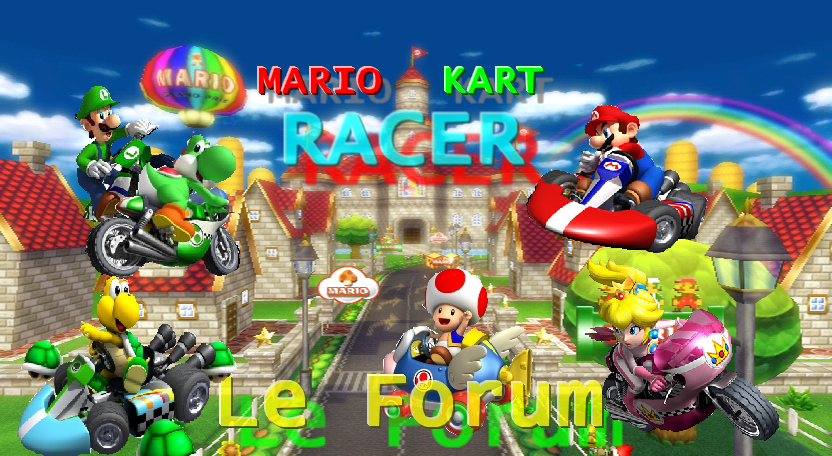 mario kart racers Index du Forum