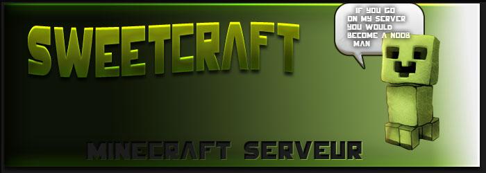 Serveur semi rp sweetcraft sans whitelist for Job serveur