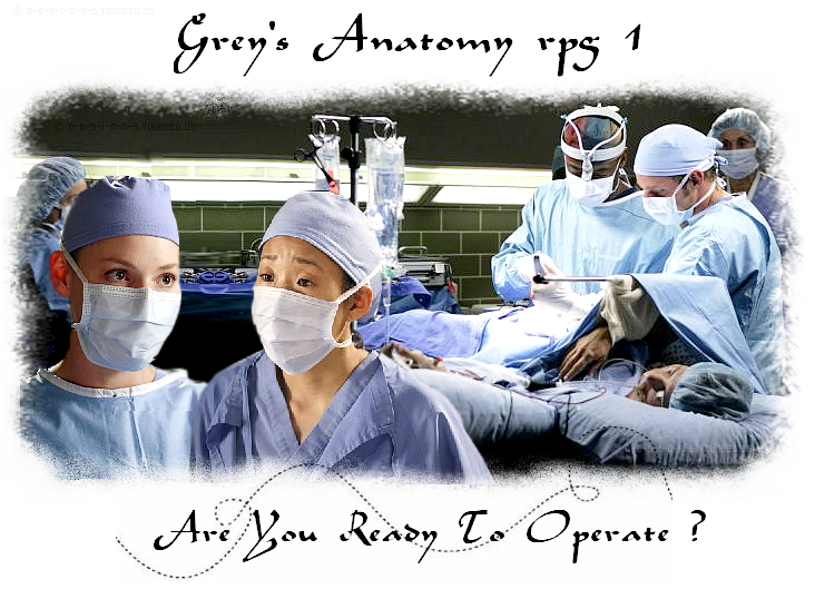 Le RPG de Grey's anatomy Index du Forum