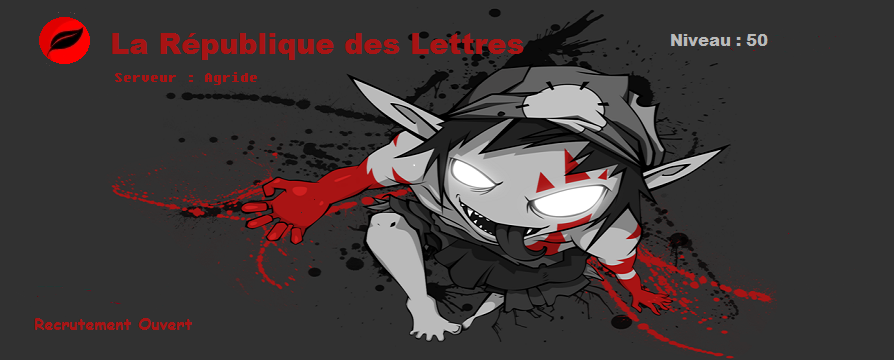La République des Lettres Index du Forum