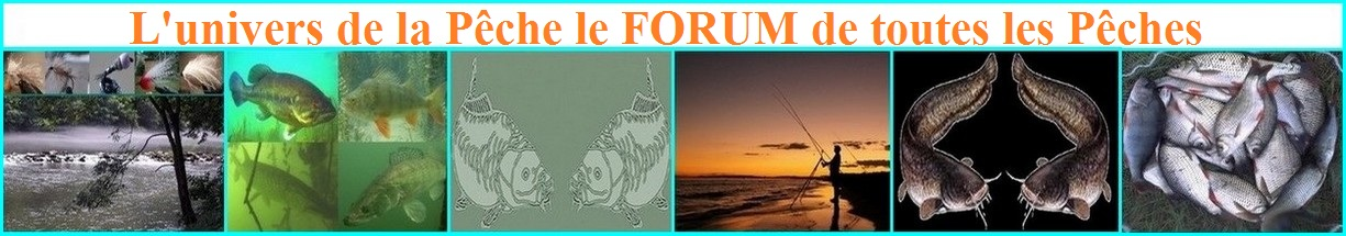 L'univers de la pêche Index du Forum