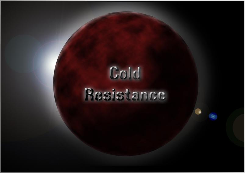 Cold Resistance Index du Forum
