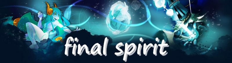 FINAL SPIRIT Forum Index