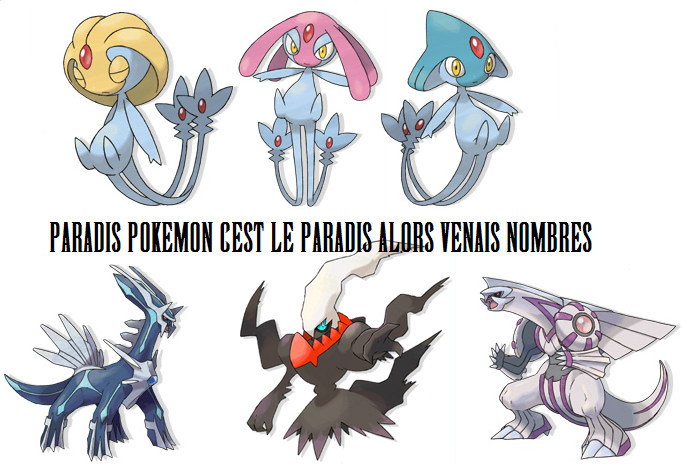 paradis pokémon Index du Forum