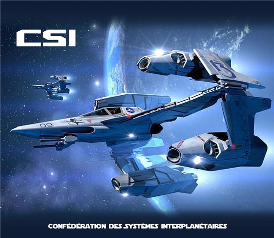 Confédération des Systèmes Interplanétaires  [-CSI-] Index du Forum