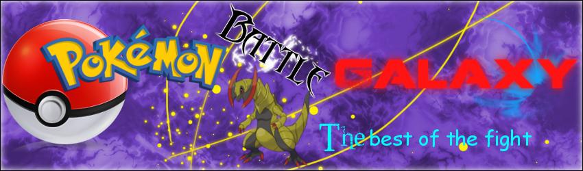 Pokémon Battle Galaxy Index du Forum