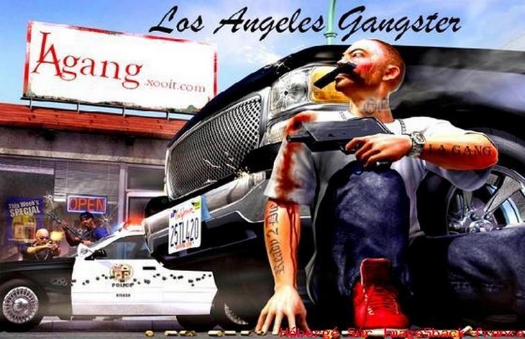 Los Angeles Gangster Bann810grgh-9eb61f