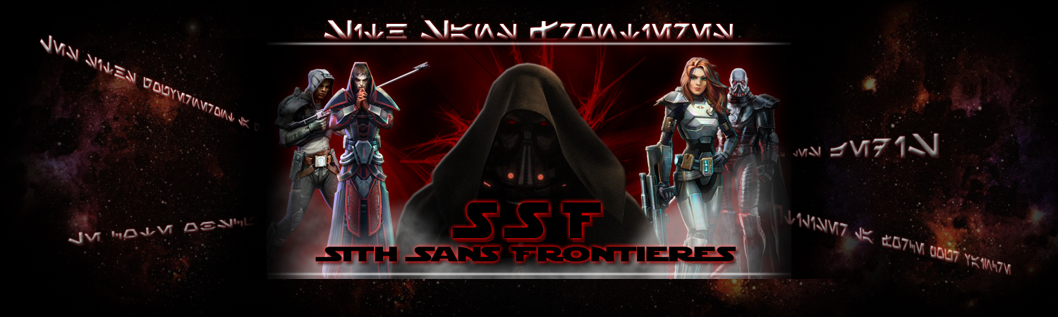 SSF - Sith Sans Frontière Index du Forum