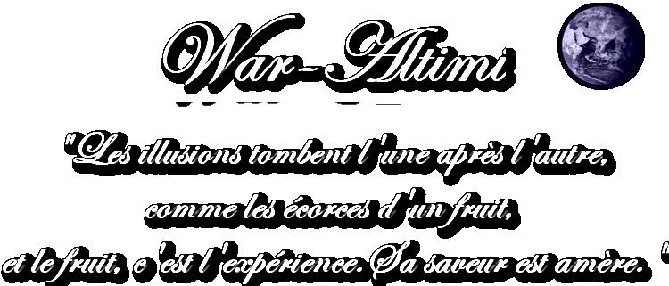 War-Altimi Index du Forum