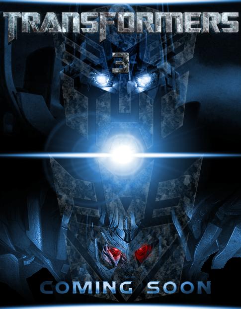 Poster de Transformers 3