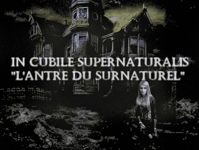 L'Antre du surnaturel Index du Forum