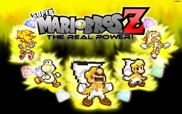 Super Mario Bros Z affiche